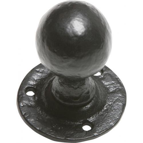 Rustic Black or Pewter Door Knobs