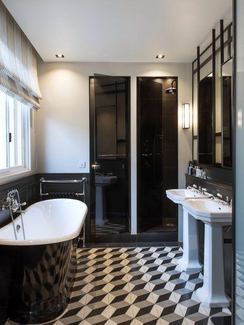taille moyenne d une salle de bain vo95 jornalagora. Black Bedroom Furniture Sets. Home Design Ideas