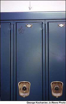 Eric Harris locker