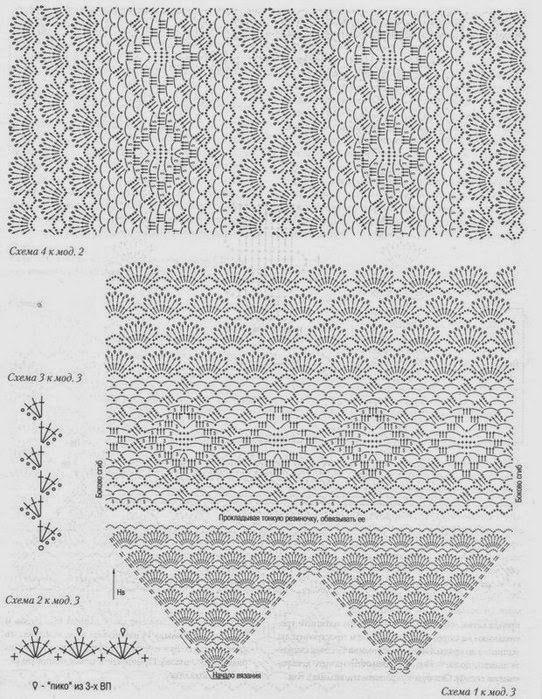 patron blusa tejida crochet | crochet | Pinterest | Croché ...
