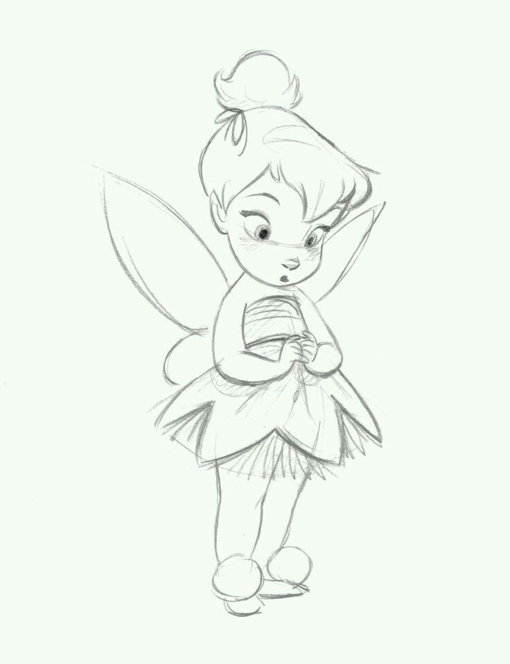 Tinkerbell drawing 4 characters pinterest tinker bell tinkerbell altavistaventures Choice Image