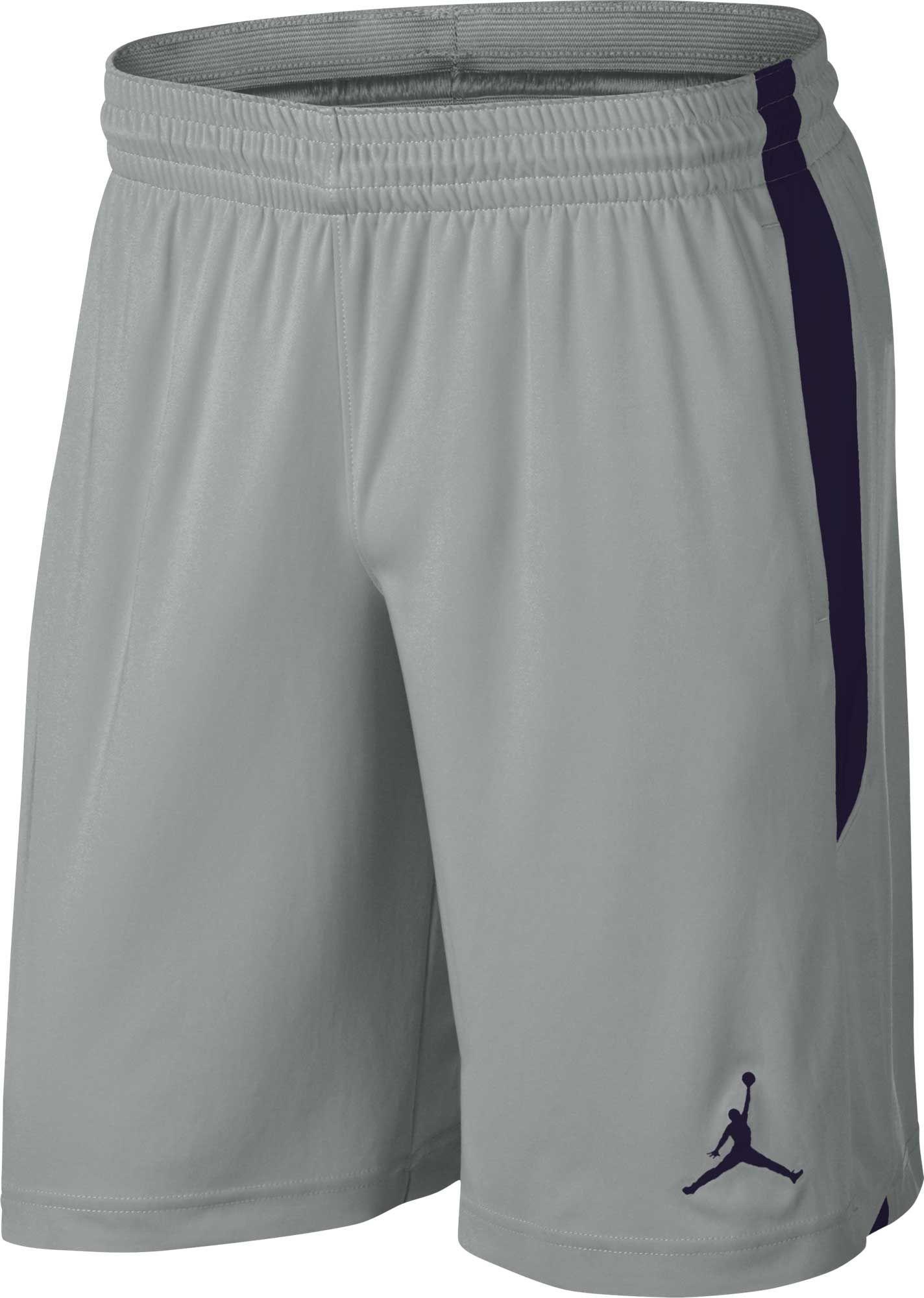 180e605e3201b Jordan Men's Dri-FIT 23 Alpha Training Shorts, Size: Medium, Light  Silver/Obsidian