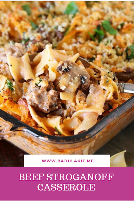 So Grab Some Ground Beef Fresh Mushrooms Sour Cream And Other Goodies At Your Local Food Lion And Whip Up This Beef Stroganoff Casserole Recipes Stroganoff