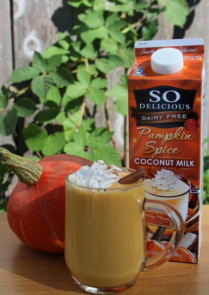 Pumpkin Spice coconut milk