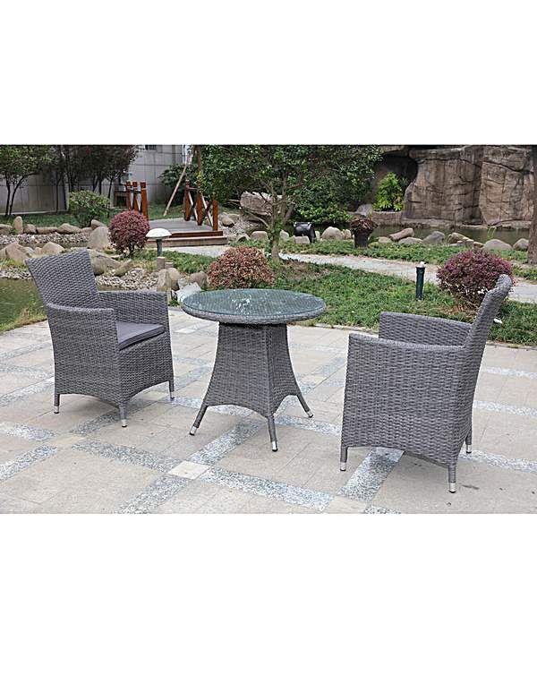Adelaide Rattan Bistro Set | Bistro set, Outdoor furniture ...