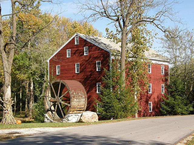Adam S Mill In Cutler This Grist Was Built 1845 And Service Until The 1950s