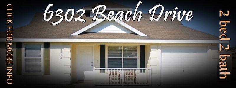 6302 Beach Drive Panama City Beach House Rental Beach Vacation
