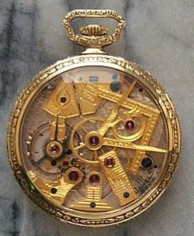 51097802e This is a Dudley, Series 1, Masonic Pocket Watch. Dudley started his own