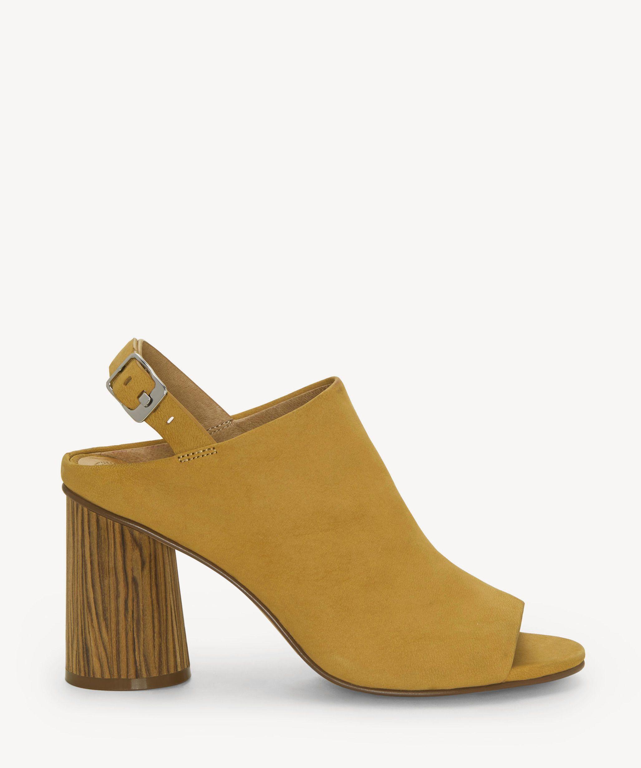 830860c59b3 Corso Como Women s Gailie Block Heels Sandals Mustard
