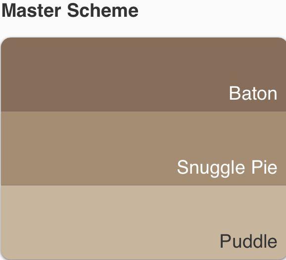 Possible Dulux Colour Scheme With