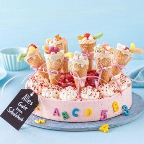 Schultuten Torte Zur Einschulung Torte Einschulung Schultute Torte Kuchen Einschulung