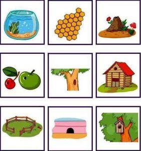 Animals And Their Homes Printables 4 Animals And Their Homes Preschool Activities Math For Kids