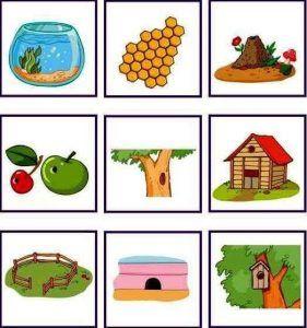 English teaching worksheets Animal homes Animals and