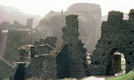 Tintagel Castle. Een van de mooiste plaatsen in Engeland. Must see