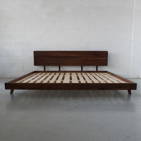Walnut Bed Frame