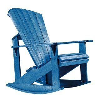 Enjoyable C R Plastics Generation Adirondack Rocker Weather Pdpeps Interior Chair Design Pdpepsorg