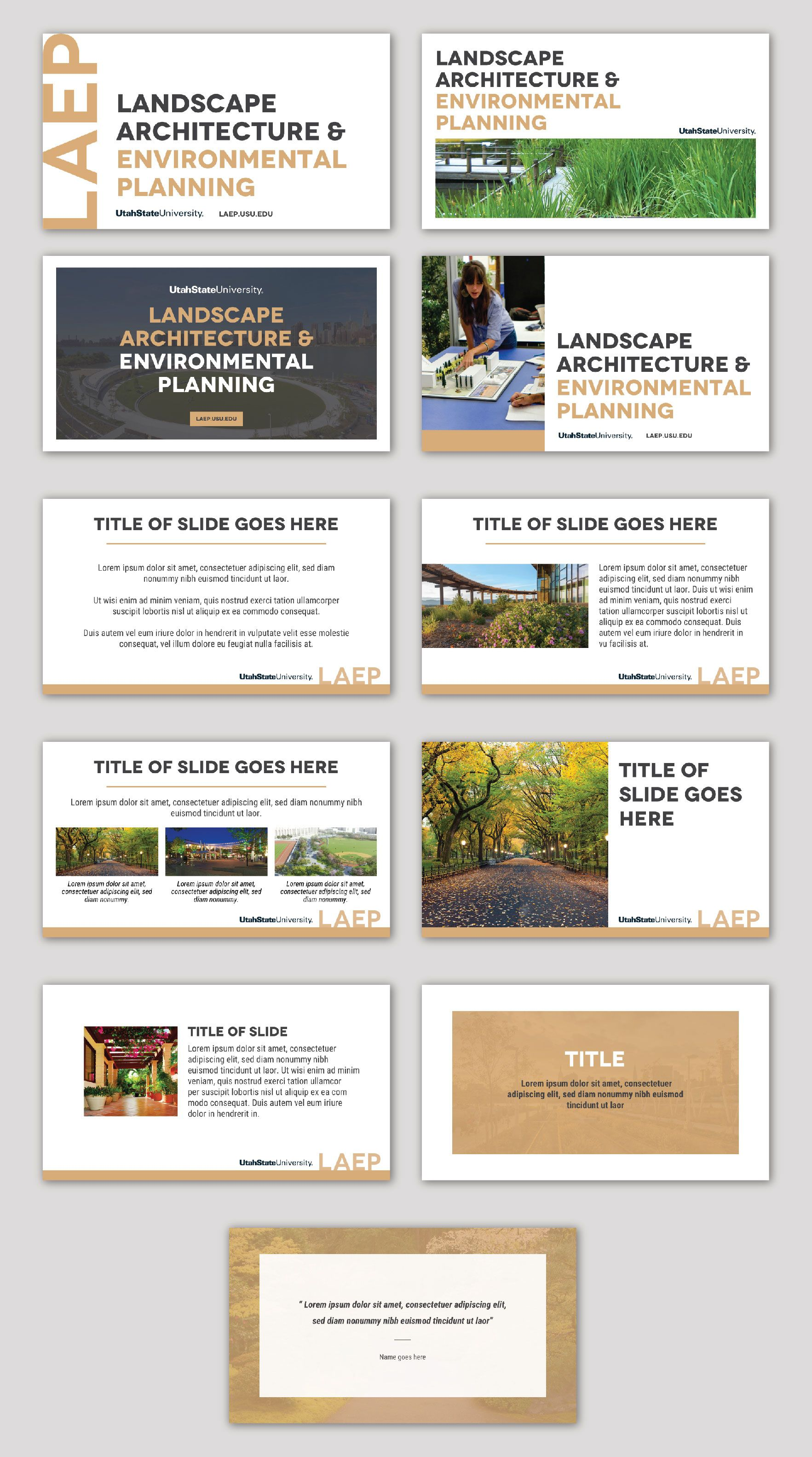 LAEP PowerPoint Template   Environmental architecture ...