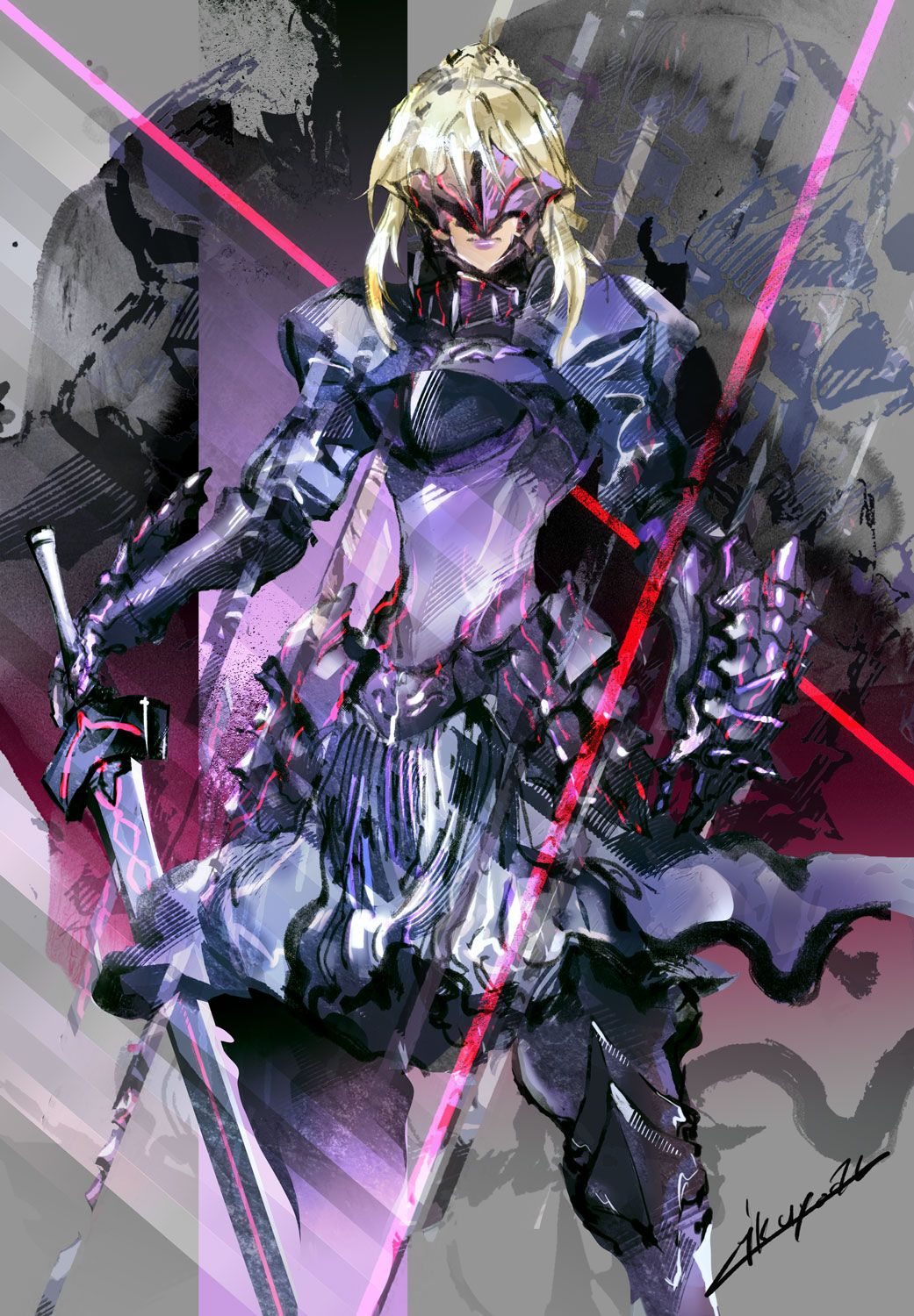 Incredible saber alter fate stay night anime fate anime