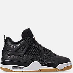 9af8a619edc9 Big Kids  Air Jordan Retro 4 SE Basketball Shoes