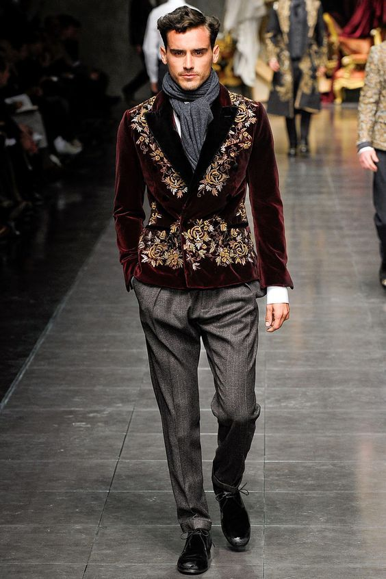 40bd0bf5f109 Dolce & Gabbana Fashion Show & More Luxury Details | Armour 2 | Mens ...