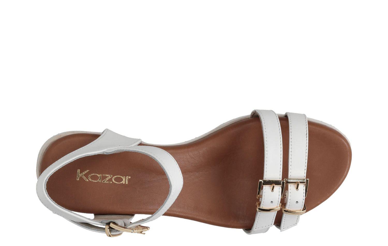 Biale Sandaly 25610 18952 01 01 Z Kolekcji 2015 Sklep Internetowy Kazar Shoes Sandals Fashion