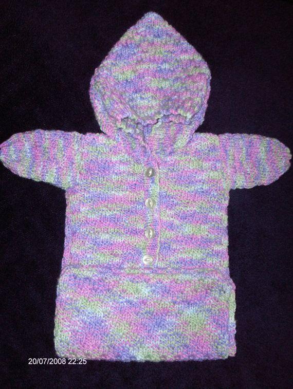 Premature Baby Sleeping Bag Knitting Pattern Babies Born Asleep