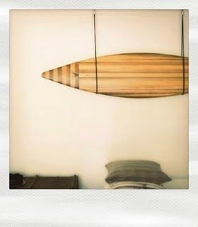 A beautiful, unique surf board made by Joachim Lindholm. It works as a piece of art, and it sure is art!