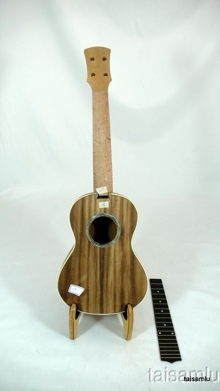 Solid Acacia Koa Tenor ukulele kit, Body completely combined,KITMT04**