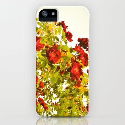 Red Flowers. iPhone Case  - $35.00