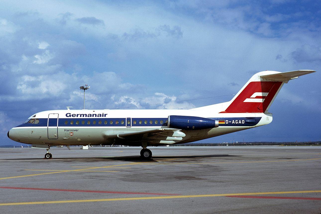 "DAGAD ""Hannover"" Fokker F281000 Fellowship 11051"