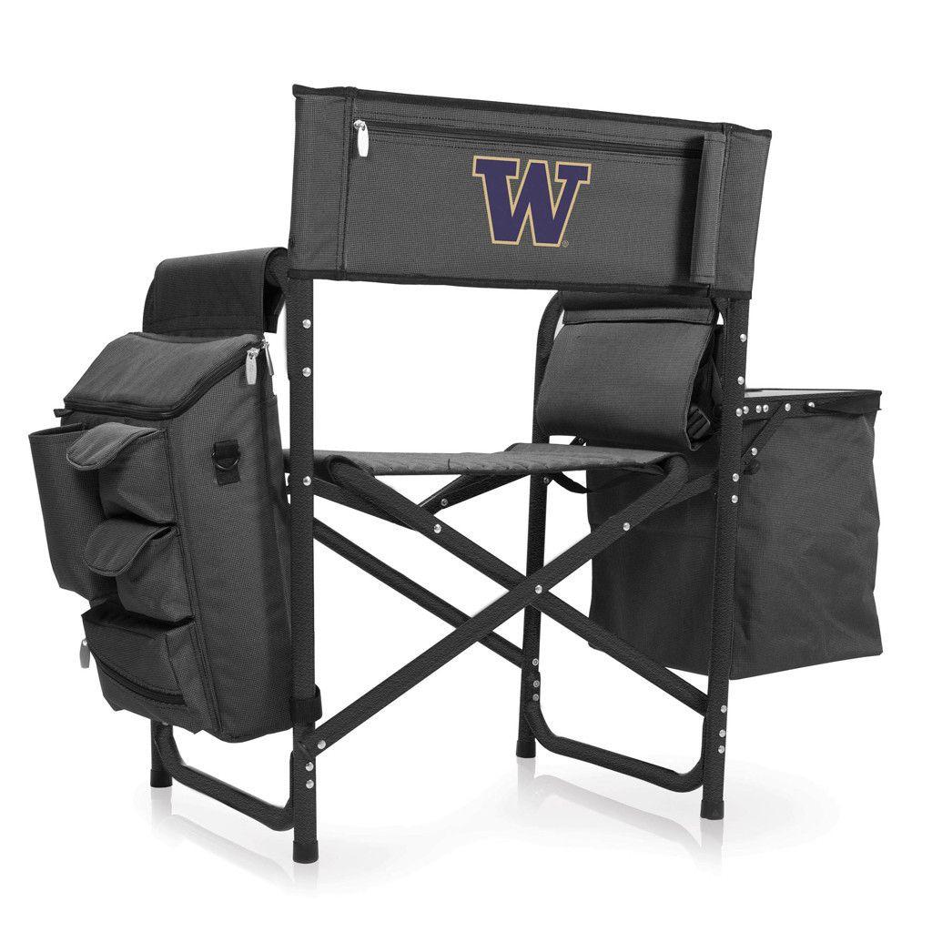 Team Color NCAA Logo Brands Washington Huskies Quad Chair