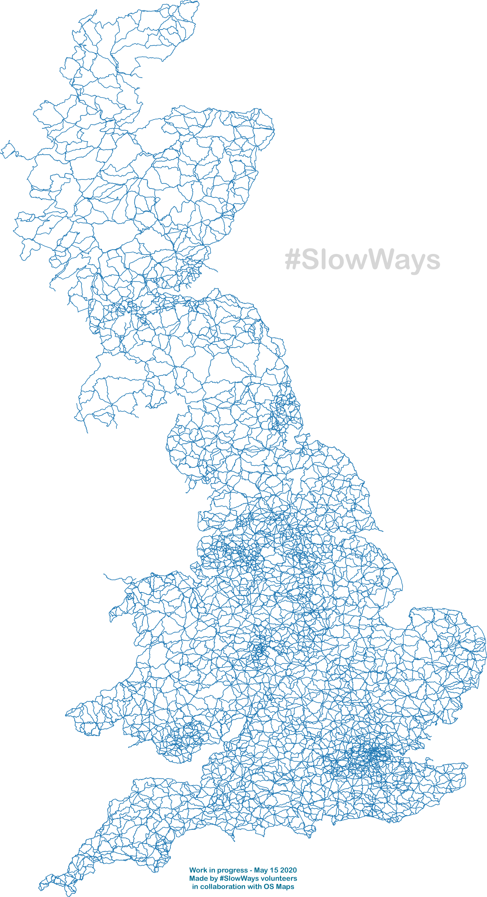Slow Ways Dan Raven Ellison Explorer Map Holiday Sleep Projects