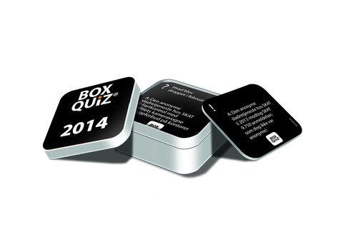 BOX QUIZ ÅRSQUIZ 2014 - den originale lille quiz om store emner - BOX QUIZ