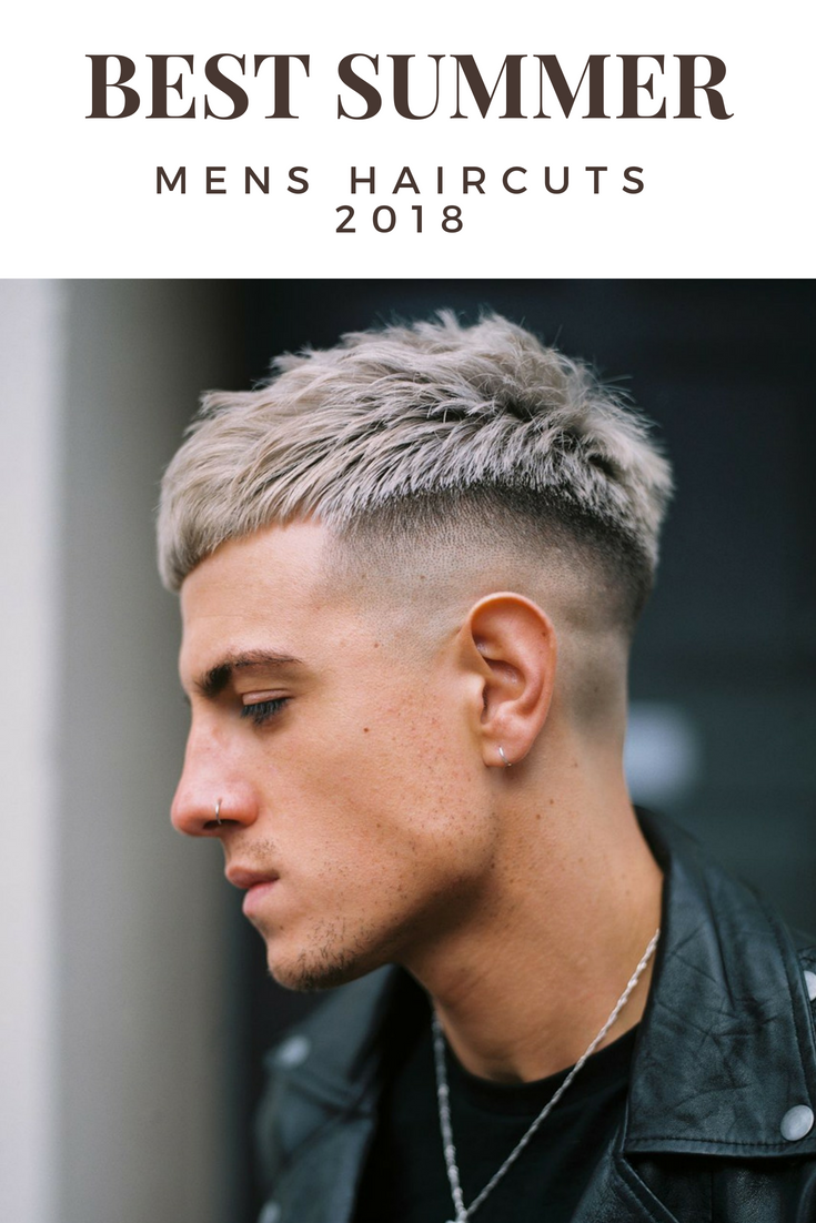 French Crop Fade 2018 Awesome Mens Haircut Variations Hair