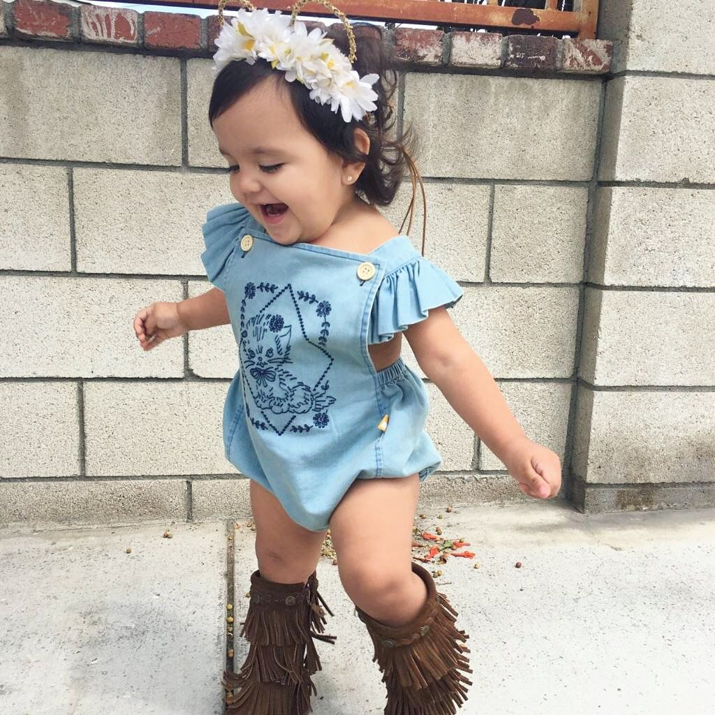 122e3693e Baby girl boho bohemian style. Baby girl  toddler fall fashion ...