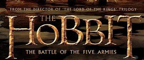 Peter Jackson Reveals 'The Hobbit: The Battle of the Five Armies' Poster