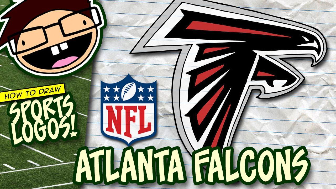 How To Draw Atlanta Falcons Logo Nfl National Football League Atlanta Falcons Logo Atlanta Falcons Falcons