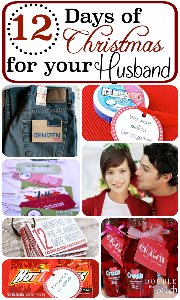 12 Days Of Christmas For Your Husband Christmas Husband Christmas Fun 12 Days Of Christmas