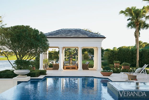 Awesome Pool Pavilions Designs Contemporary - Interior Design ...