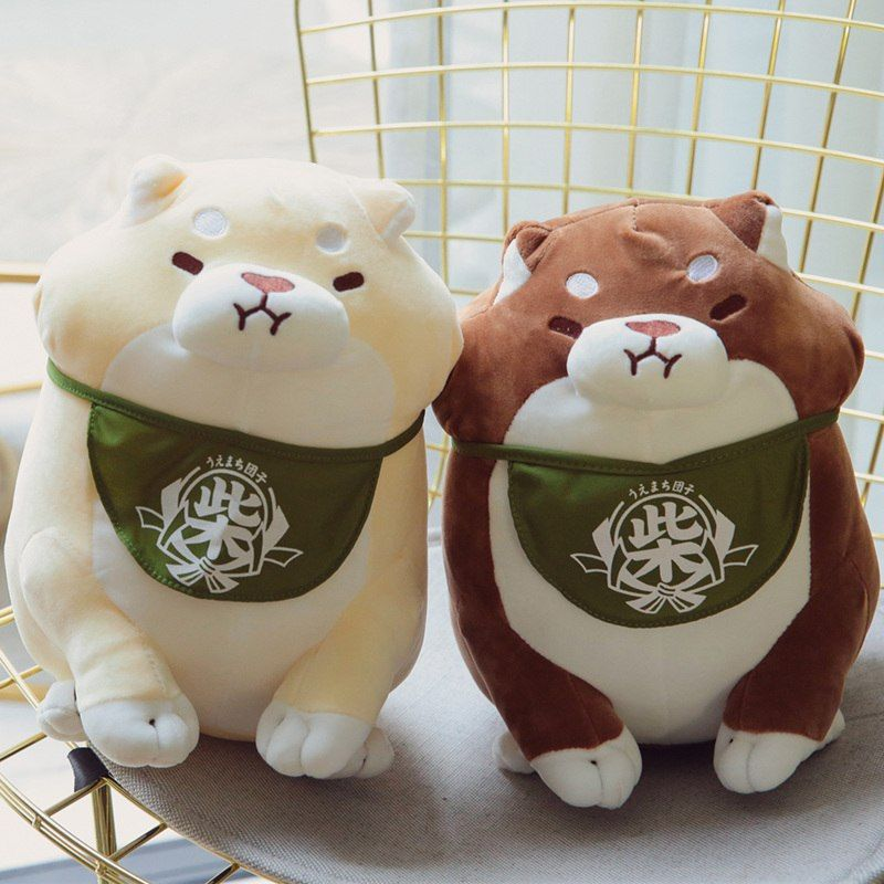 Faithful Mochishiba Soft Mochi Okaka Shiba Inu Dog Plush Cushion Cute Doll Japan