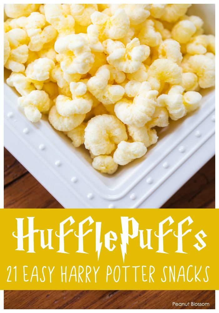 21 whimsical Harry Potter snacks in a wand's flick