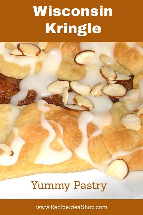 Wisconsin Kringle Recipe Almond Kringle Recipe Homemade Pastries Kringle Recipe