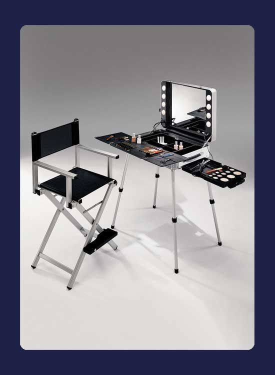 Kryolan Portable Make Up Station Evolution 101evo 10 46304 Portable Makeup Station Portable Makeup Makeup Station