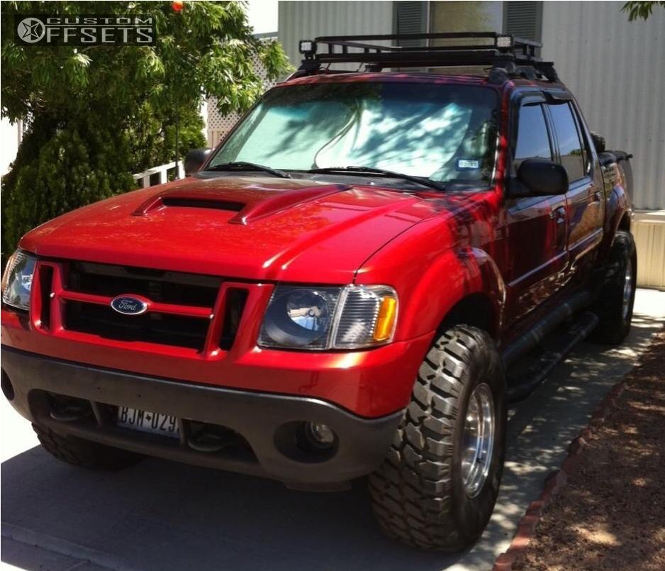 5 2001 Explorer Sport Trac Ford Stock Body Lift 3in