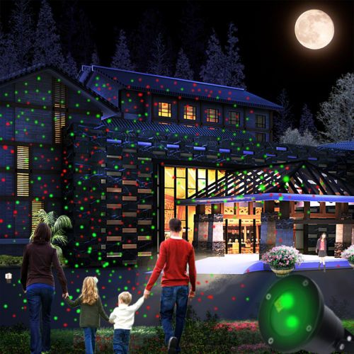 Waterproof Outdoor Romantic Christmas Lights Laser Projector Moving Party Lights In Musical Instruments Gear Sta Solar Christmas Lights Laser Lights Projector