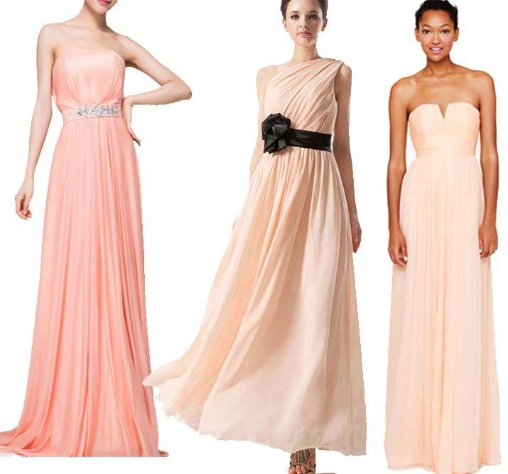 db8ac0fd1bb long peach bridesmaid dresses on Kissprom Peach Bridesmaid Dresses