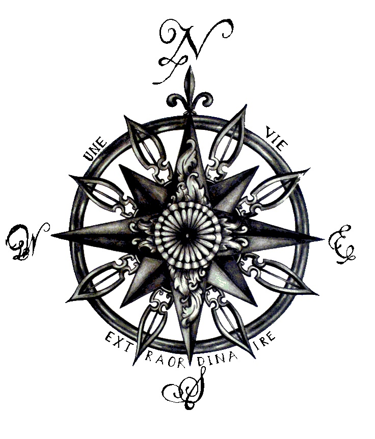 57cf80d93 compass tattoo idea … | Compass tattoos | Compa…