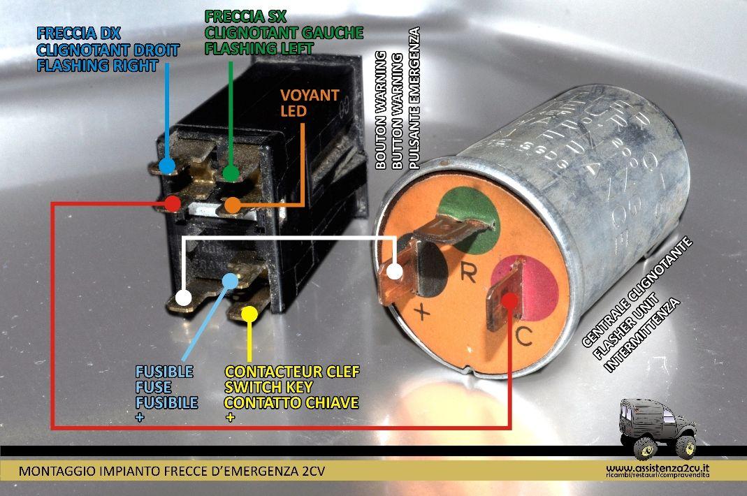 Schema Elettrico Auto : Risultati immagini per relè frecce auto schema schema elettrico