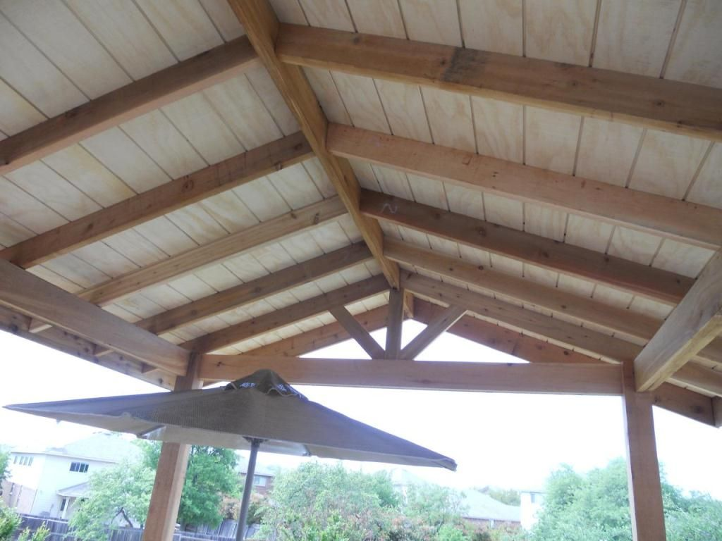 Patio cover plans free standing pictures photos images for Patio cover construction plans