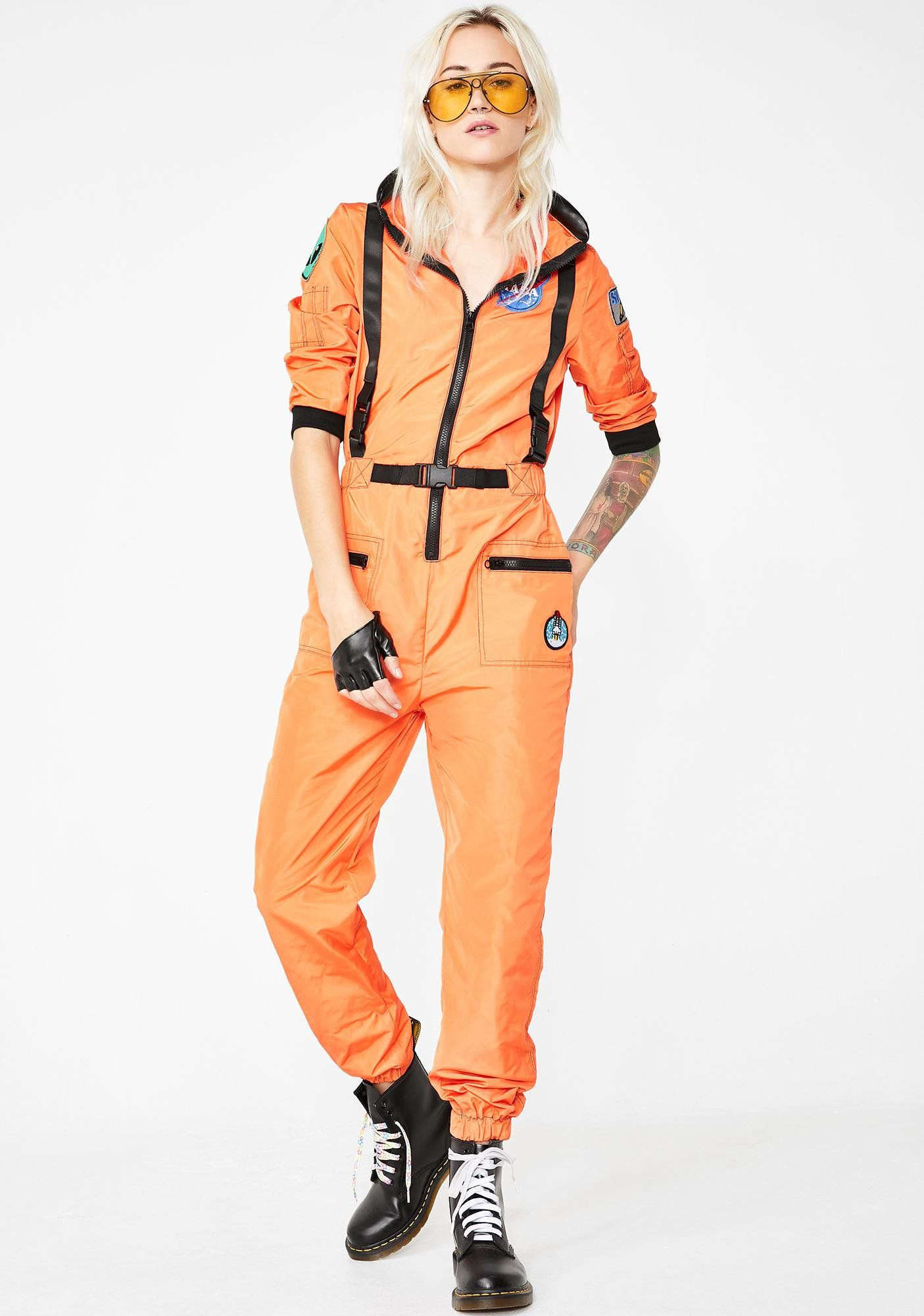 14e081d7cf62 Dolls Kill NASA-TY Flight Suit Costume